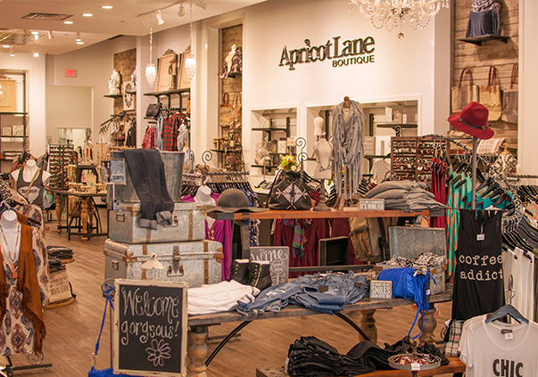 Inside an Apricot Lane Boutique